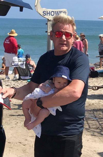 Gordon Ramsay split opinion with son's hair