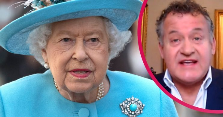 Paul Burrell and The Queen