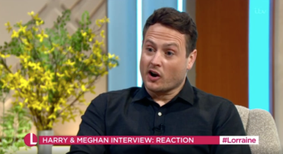 Russell Myers on Lorraine