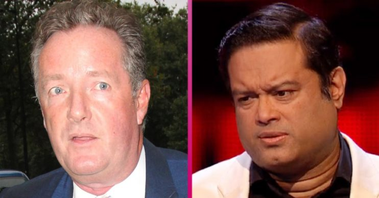 Piers Morgan and Paul Sinha