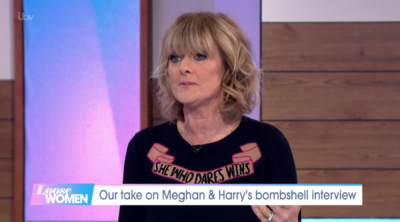 Jane Moore appeared to defend the royal family after the meghan and Harry interview