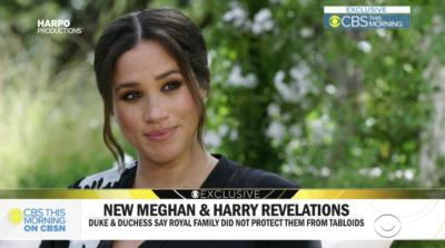 meghan chats to Oprah