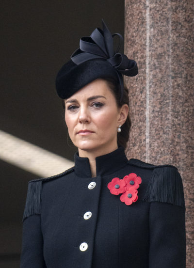 Kate Middleton in black