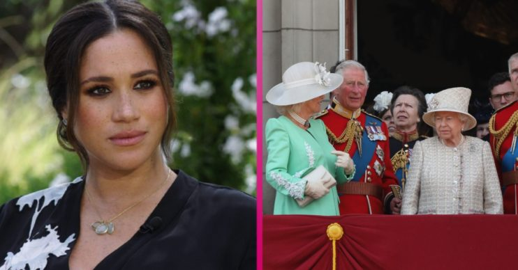 Meghan Markle and The Royal Family