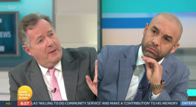 Piers Morgan has defended his strop on GMB after storming off-set