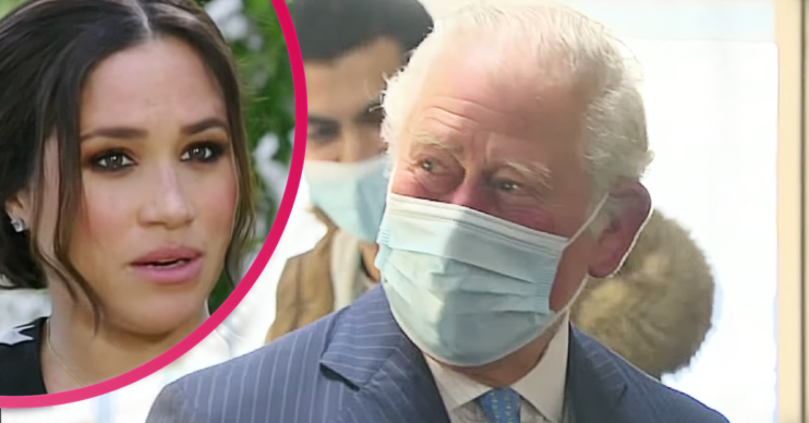 Prince Charles refuses to answer questions after Harry and Meghan interview