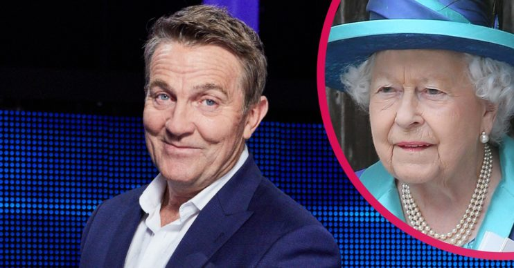 Bradley Walsh and The Queen