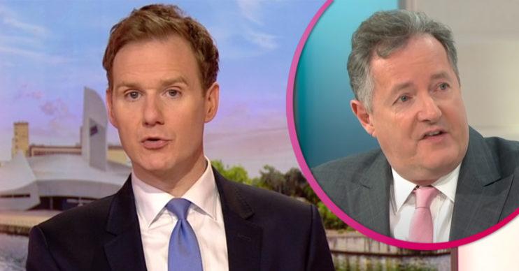 Dan Walker and Piers Morgan clash