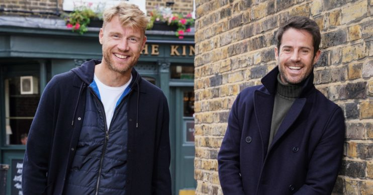 Freddie Flintoff and Jamie Redknapp DNA Journey