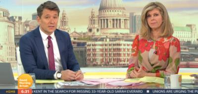 Ben Shephard and Kate Garraway talk Piers Morgan GMB exit