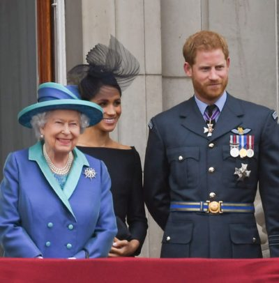 The Queen Meghan and Harry interview