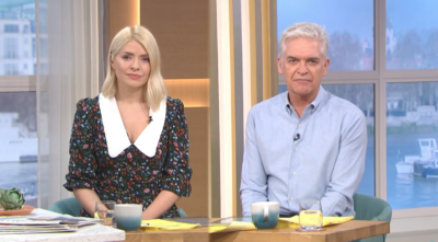 holly and Phil on ITV this morning