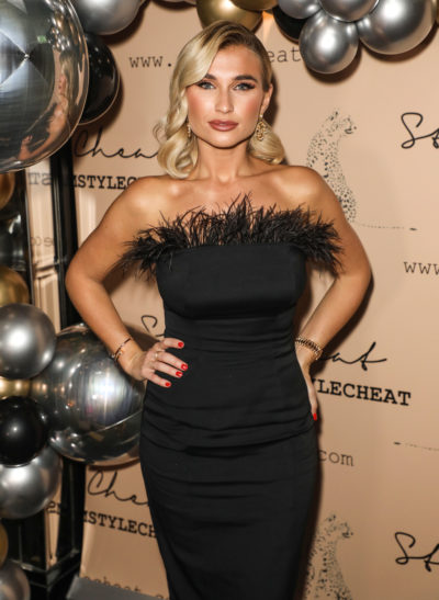billie faiers on the red carpet