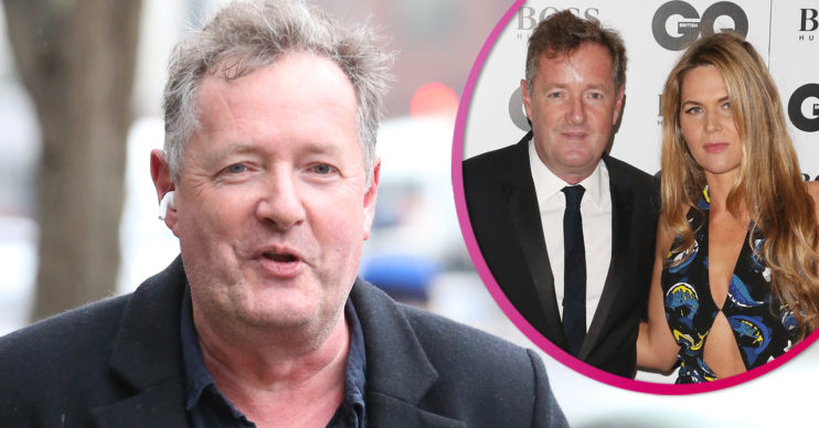 Piers Morgan news - wife pokes fun at him