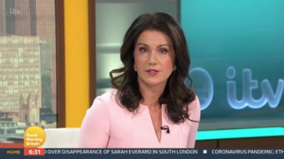 Susanna Reid has quelled fears she's leaving GMB after Piers Morgan quit