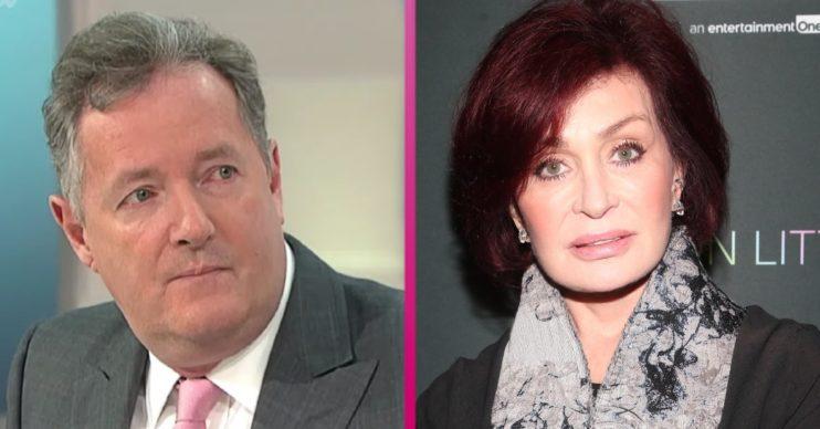 Piers Morgan Sharon Obsourne