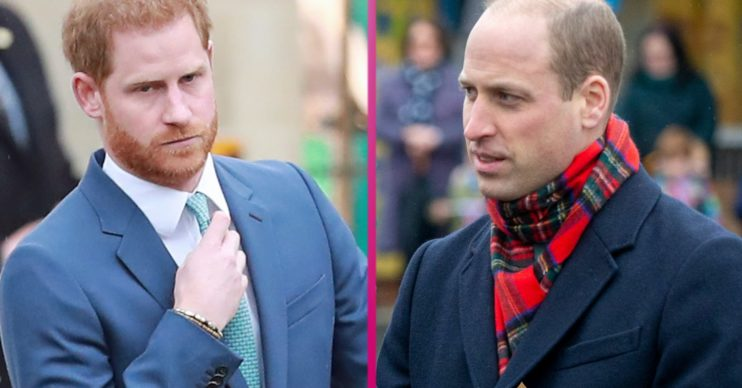 Prince Harry and Prince William's falling out began 'long before Meghan Markle'