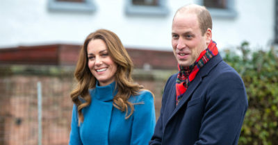 The Duke and Duchess of Cambridge at Holy Trinity Church of England First School