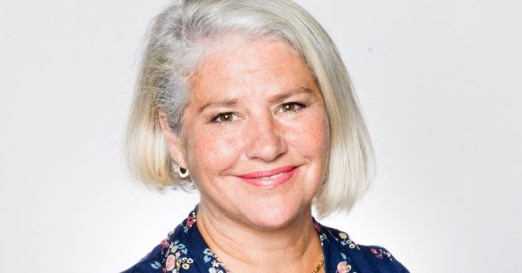 Denise Black as Joanie in Emmerdale
