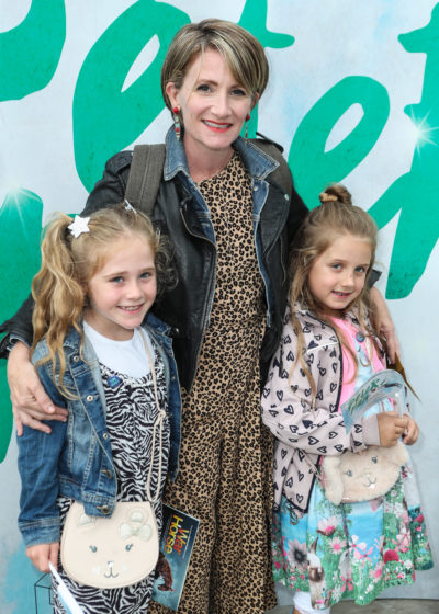 Lucy Speed and her two daughters