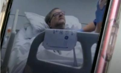 Kate Garraway husband Derek in hospital