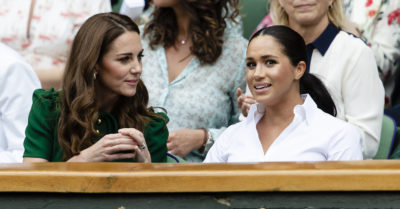 kate middleton with meghan markle