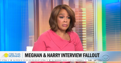 Gayle King on CBS This Morning - latest on Meghan and Harry