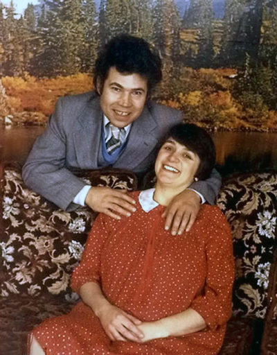 Fred and Rose West, the serial killer couple who tortured, raped and murdered at least 12 young women and girls, including members of their own family (Credit: Channel 5)