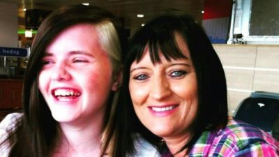Janet Scott and her daughter Amelia Karnstein, who was very vocal about the justice system after her mum's death (Credit: YouTube)