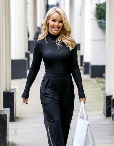 Katie piper out shopping