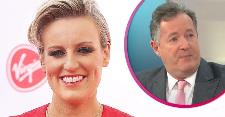 Steph to replace Piers Morgan on GMB