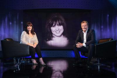 Coleen Nolan meets Piers Morgan in Life Stories (Credit: ITV1)