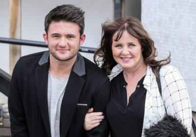 TV presenter Coleen Nolan with her son, Shane Richie Jr (Credit: Splash)