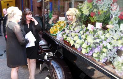 Coleen Nolan attending the funeral of her beloved sister Bernie (Credit: Splash)