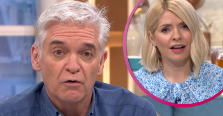 Phillip Schofield on This Morning with Holly Willoughby