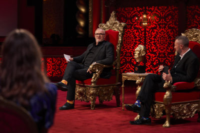 Taskmaster Greg Davies always has the final say in the Channel 4 series (Credit: C4)