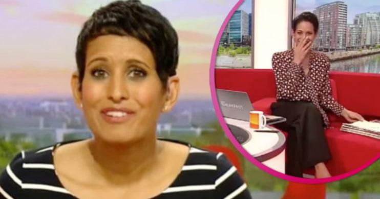 naga munchetty on BBC Breakfast