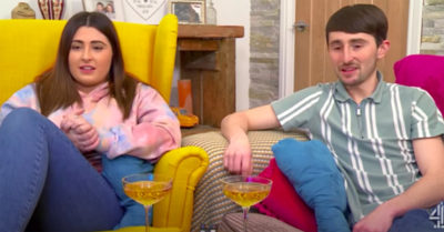 Pete and Sophie on Gogglebox