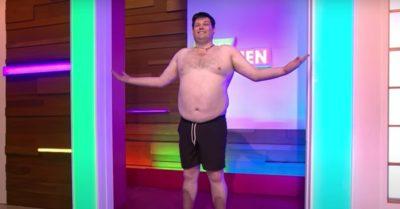 Mark Labbett's weight loss