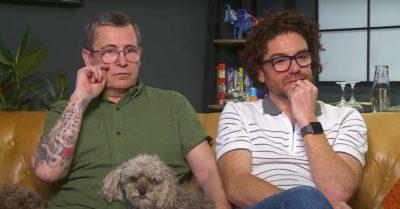 Stephen and Daniel were in Gogglebox Census ad