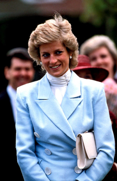 princess Diana at an event