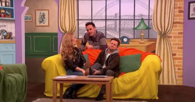 Ant and Dec reunite with Cat Deeley