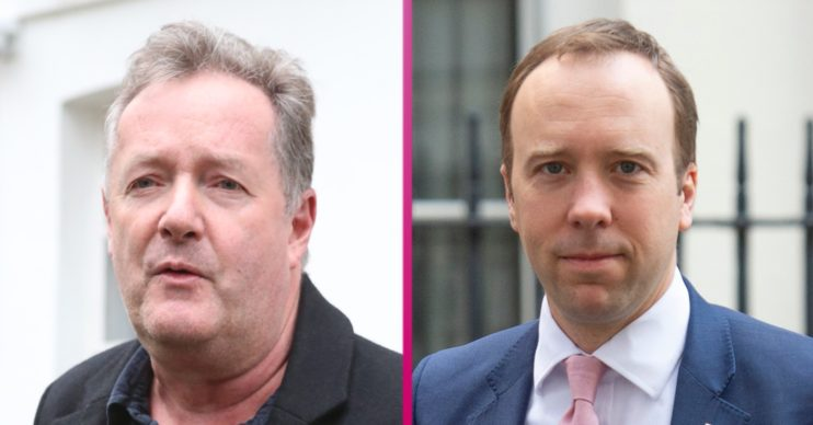 Piers Morgan slams Matt Hancock