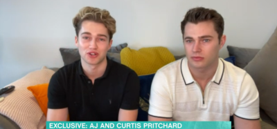 AJ Pritchard speaks about girlfriend fire accident