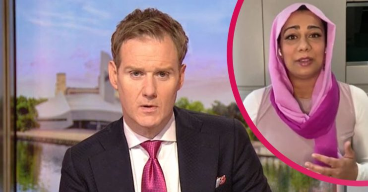 Dan Walker and Dr Nighat BBC Breakfast