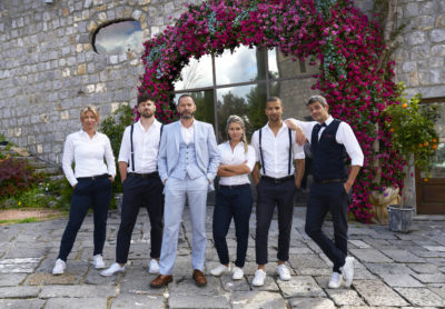 The First Dates Hotel team are back for series six (Credit: Channel 4)