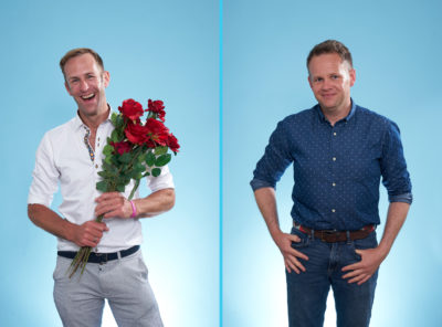 First Dates Hotel series six episode one pairs Winston and Ben (Credit: Channel 4)