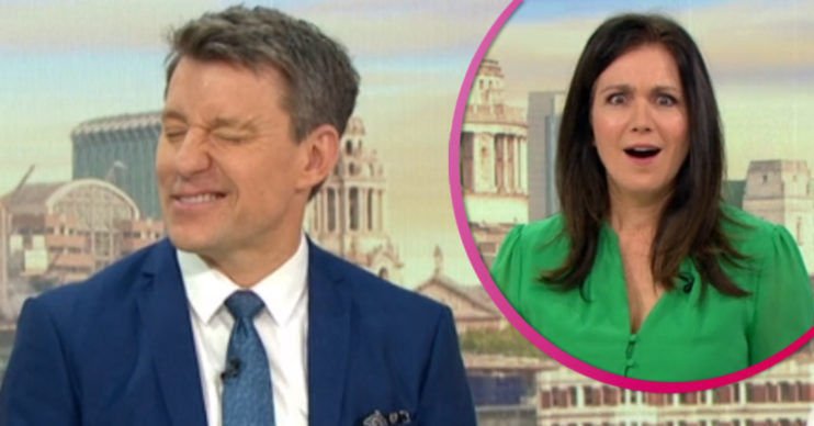 Ben and Susanna on GMB today