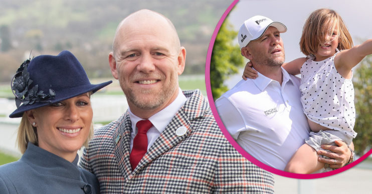 Mike Tindall talks about baby son