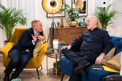 Bill Bailey with Robert Rinder